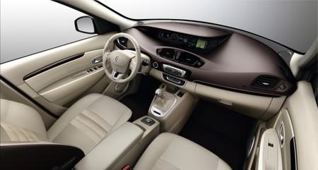 Interior nuevo Renault Scénic