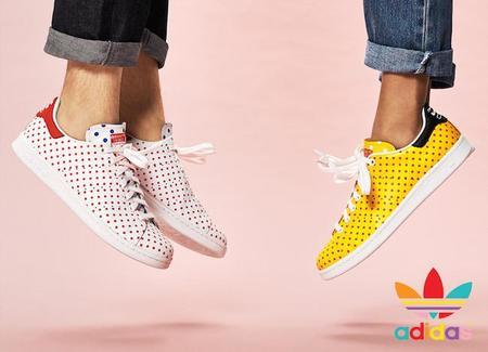"""Pharrel presenta """"Polka Dot"""" en colaboración con Adidas"""