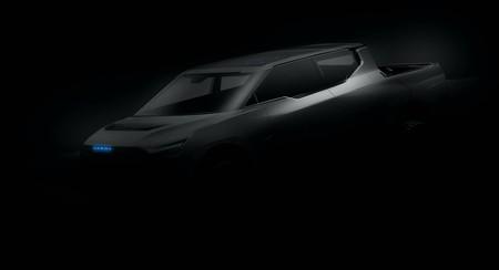 Karma Automotive no se queda atrás: devela el primer teaser de su nueva pick-up eléctrica