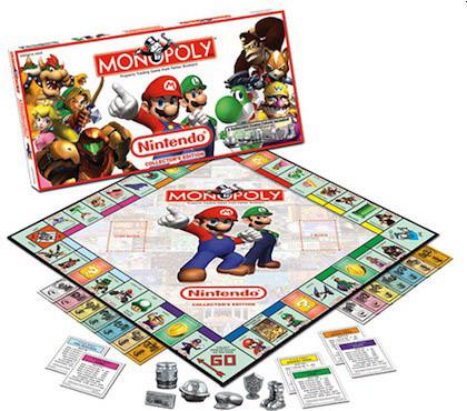 Monopoly edición Nintendo
