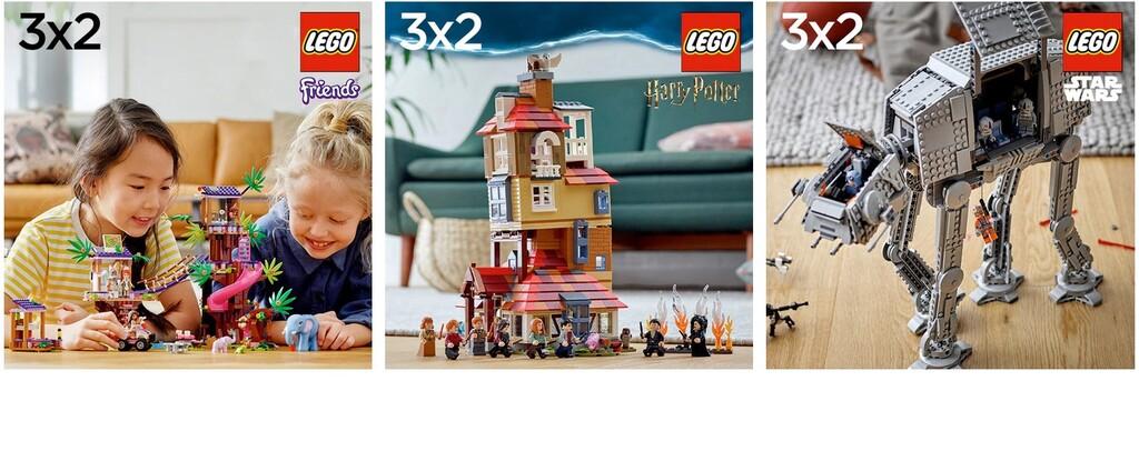 3x2 en sets de Lego en El Corte Inglés: Lego Star Wars, Harry Potter, Friends o City rebajados justo antes de navidades