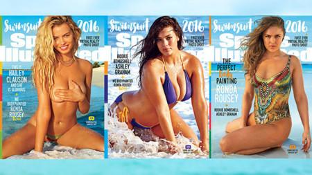 Sports Illustrated apuesta por mostrar diferentes tipos de cuerpos femeninos en su edición de bañadores