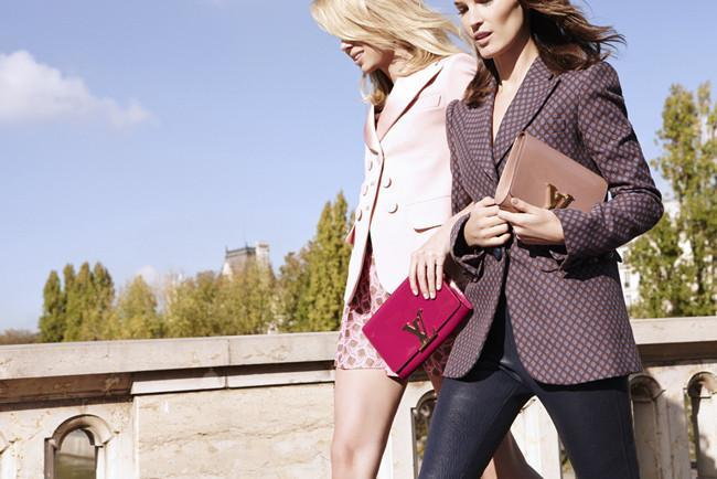 Hanneli para Louis Vuitton