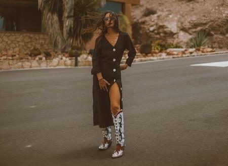 Zara tiene las siete botas altas que mejor quedan con vestidos largos y cortos