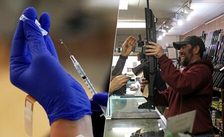 Armas, hamburguesas, un millón de dólares: todo lo que está regalando EEUU a cambio de vacunarse