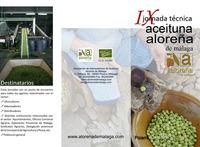 Aceituna Aloreña, agricultura y alimentación ecológicas