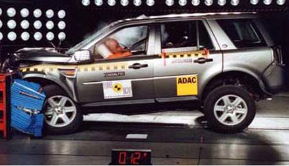 Cinco estrellas EuroNCAP para el Land Rover Freelander 2