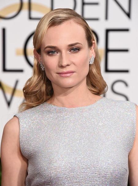 Diane Kruger Mejor Vestida Globos Oro 2015