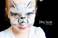 Daizy, una artista que pinta las caras de los niños de manera increíble