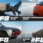 Este es el brutal elenco de coches para las escenas sobre hielo en Fast and Furious 8