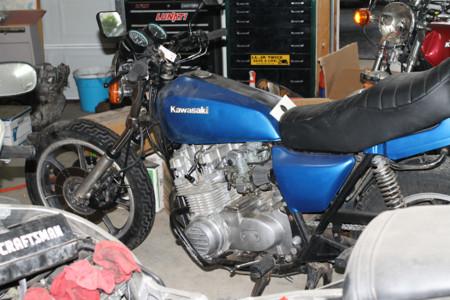 Motocicleta Abandonada
