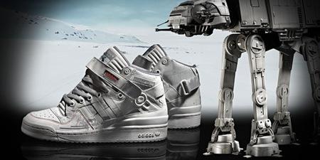 Adidas y Star Wars, la colaboración más espacial de 2010, At-At