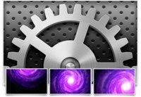 Wallpaper: Preferencias del Sistema y Galaxias