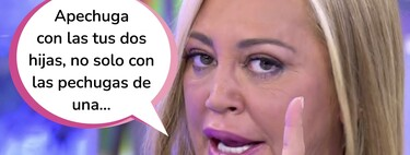 """Belén Esteban, indignada con Jesulín de Ubrique por el favoritismo entre sus hijas: """"Me jode que a Juls le pague las tetas y a Andrea no le pague la mitad de los estudios"""""""