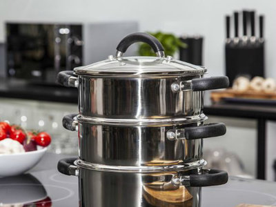 La cocción al vapor, una saludable forma de cocinar