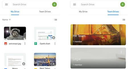 Google Drive empieza a recibir el rediseño Material Theming: así es su nuevo aspecto