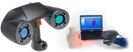 ZScanner 700, escáner 3D