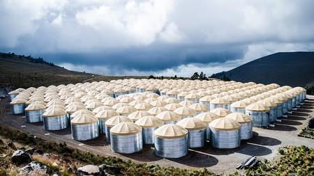 Este observatorio en el volcán Sierra Negra en México es una de las claves para el estudio de la antimateria
