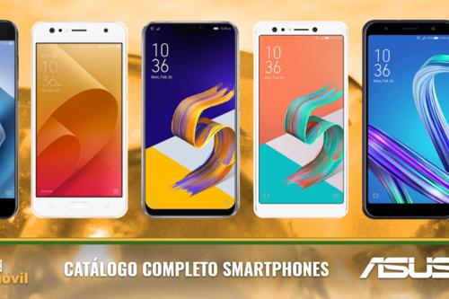 Así queda el catálogo completo de smartphones Asus tras las novedades presentadas en el MWC 2018
