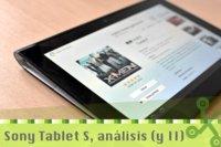Sony Tablet S, nuestro análisis (y II): interfaz y servicios