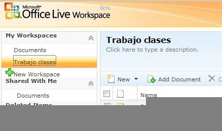 Microsoft Office Live Workspace ya se puede usar