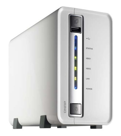 QNAP TS-210, enfocado al mercado de consumo