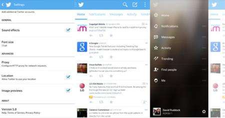 Twitter 5.0 Beta