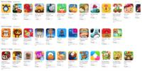 Apple estrena una nueva sección de juegos para los niños dividida en edades