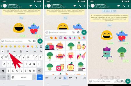 Whatsapp Stickers Animados Gboard