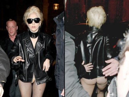 Looks abrigo frío celebrities: Lady Gaga