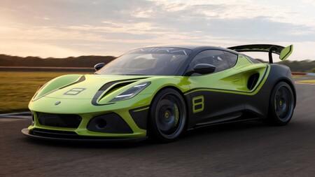 Lotus Emira GT4, el último deportivo de Hethel a gasolina, se muestra en su versión de circuito