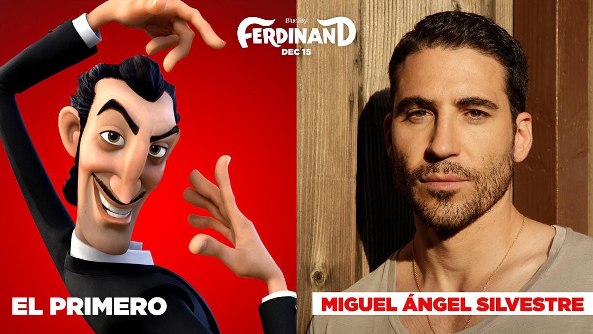 Las voces de 'Ferdinand'