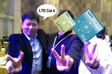 """Declara Huawei que su Octa-Core tendrá LTE """"más rápido"""""""