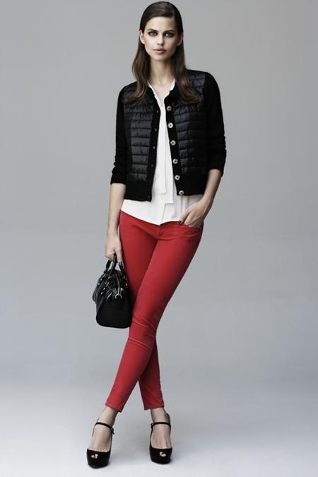 blanco rojo y negro