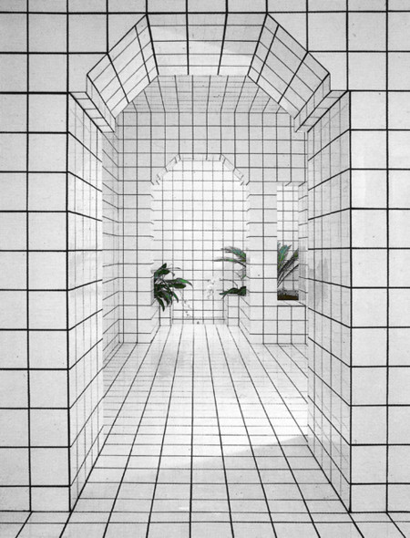 21 ideas decorativas originales jugando con los azulejos y sus juntas - Juntas azulejos ...