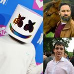17 celebrities que (según nuestros seguidores) podrían ser Marshmello