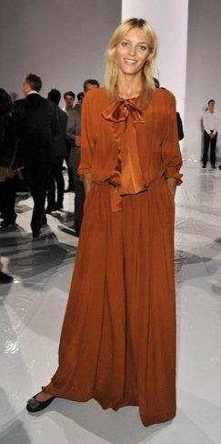 Semana de la Moda de París Anja Rubik