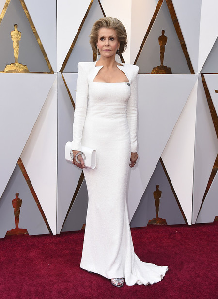 Alfombra Roja Oscar 2018 Jane Fonda Balmain