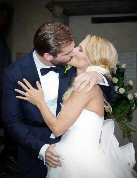Tomaso Trussardi, el heredero del emporio Trussardi, y Michele Hunziker ya son marido y mujer