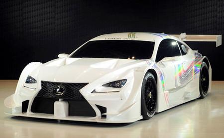 El nuevo Lexus del Super GT cambia de nombre y pasa a llamarse RC-F