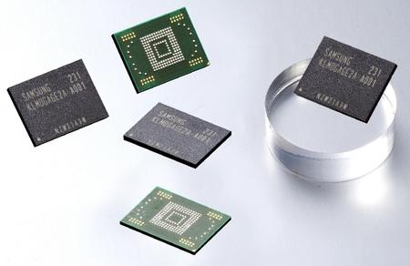 Samsung y su futurología de fabricar módulos flash de 128GB para móviles