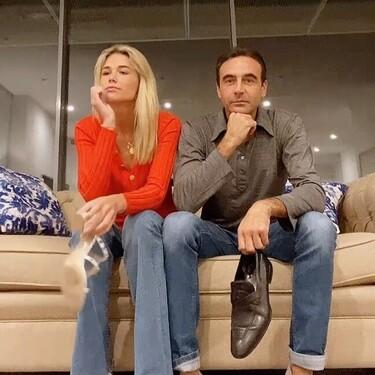 """El """"glamouroso"""" y """"divertido"""" TikTok de Enrique Ponce y Ana Soria estrenando ático: ¡Supera esto, Pedroche!"""