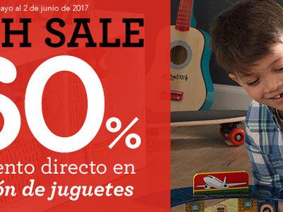 Flash Sales de Toys 'r us: hasta un 60% de descuento en  140 juguetes. Además, el envío sólo cuesta un euro