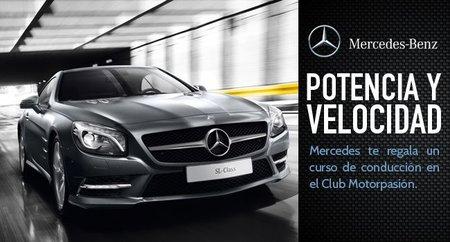 Gana un curso de conducción de Mercedes con el Club Motorpasión