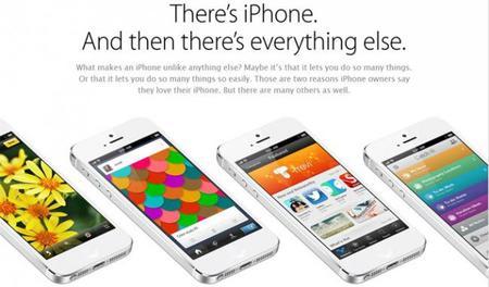 Apple crea un sitio especial en respuesta al lanzamiento del Galaxy S4