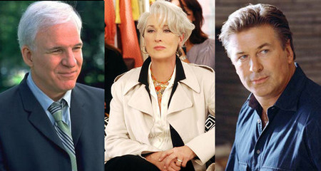 Steve Martin y Alec Baldwin pelearán por Meryl Streep