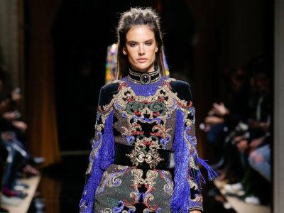 En tu desfile me colé y a todas enamoré: los looks de mujer de Balmain menswear Otoño-Invierno 2016/2017