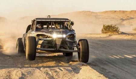 Un vistazo en vídeo a la actuación del buggy EV1 en la prueba Mexican 1000