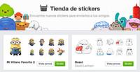 Facebook permite la utilización de stickers desde su versión web