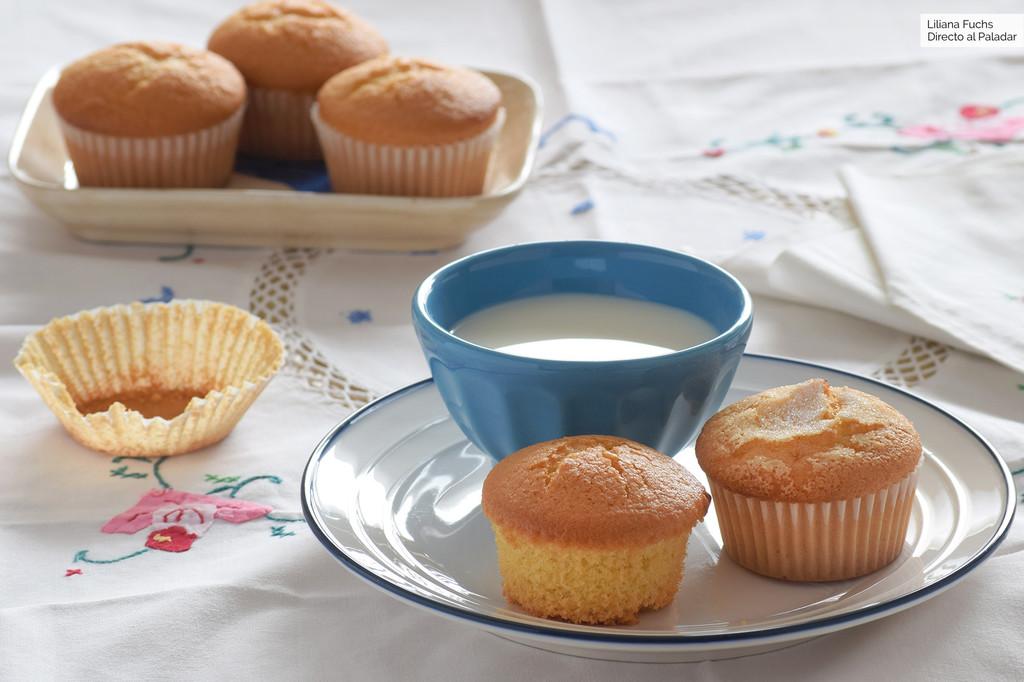 Cómo hacer magdalenas sin gluten y sin lactosa: receta fácil con el sabor de siempre